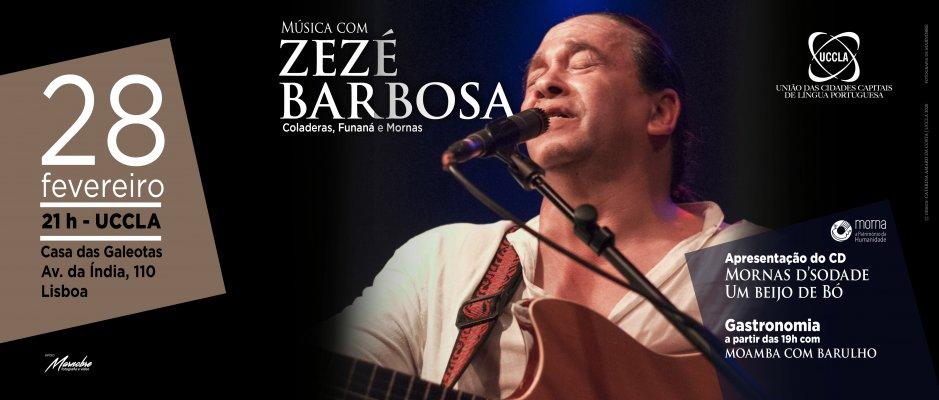 Música de Zézé Barbosa na UCCLA