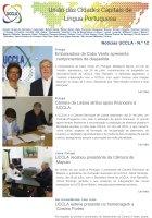 Notícias UCCLA - N.º 12 - 29 de Julho de 2016