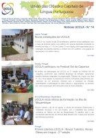 Notícias UCCLA - N.º 14 - 26 de Agosto de 2016