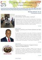 Notícias UCCLA - N.º 21 - 2 de Dezembro de 2016