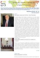 Notícias UCCLA - N.º 31 - 5 de Maio de 2017