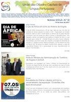 Notícias UCCLA - N.º 32 - 19 de Maio de 2017