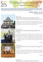 Notícias UCCLA - N.º 33 - 2 de Junho de 2017