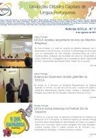 Notícias UCCLA - N.º 37 - 4 de Agosto de 2017