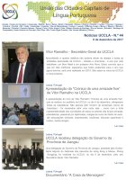 Notícias UCCLA - N.º 44 - 9 de Dezembro de 2017