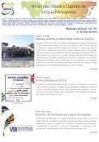 Notícias UCCLA - N.º 51 - 11 de Maio de 2018