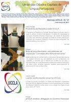 Notícias UCCLA - N.º 27 - 3 de Março de 2017