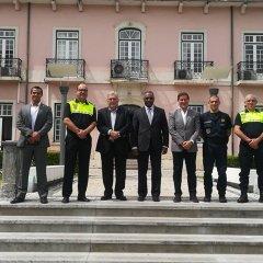 Visita à Polícia Municipal e Bombeiros de Lisboa