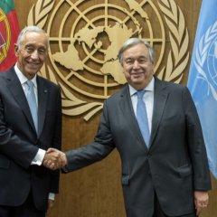 António Guterres toma posse para segundo mandato como Secretário-geral da ONU