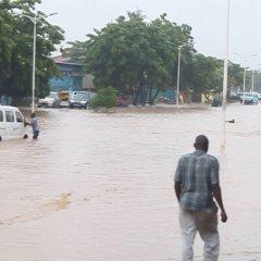 Chuvas torrenciais em Luanda