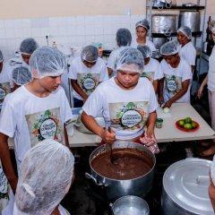 Projetos de educação alimentar em Belém