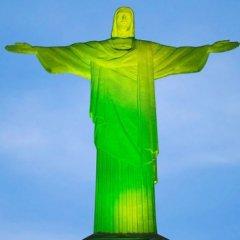Cristo Redentor com nova iluminação