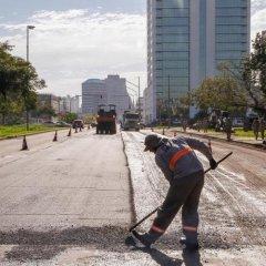 Programa de Requalificação de vias em Porto Alegre