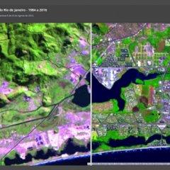 Aplicativo mostra evolução urbana do Rio de Janeiro