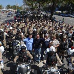 Rio de Janeiro lança Programa de Moto Patrulhamento da Guarda Municipal
