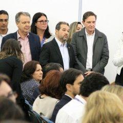 Lançamento de programas para população em situação de vulnerabilidade social