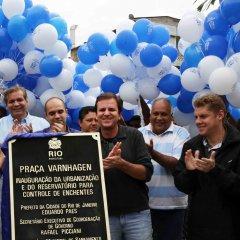 Reservatório de águas pluviais inaugurado no Rio de Janeiro