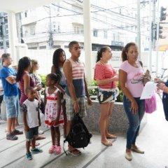 Vacinação contra a febre-amarela no Rio de Janeiro