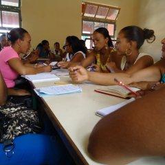 Escolas do ensino pré-escolar em formação promovida pela UCCLA