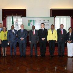 Comissão Executiva da UCCLA reunida em Macau