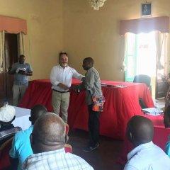 Cerimónia de entrega das Fichas de Cadastro da Ilha de Moçambique