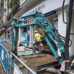 Obras viárias em Macau no próximo ano