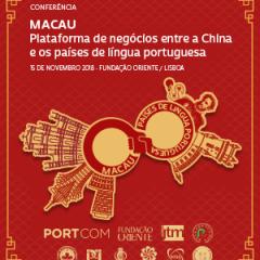 """UCCLA irá participar na Conferência """"MACAU - Plataforma de Negócios entre a China e os Países de Língua Portuguesa"""""""