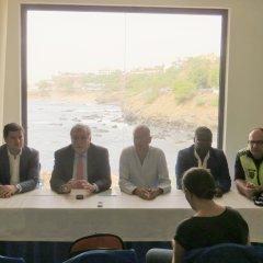 Conferência de imprensa sobre o encerramento do programa de Segurança Urbana