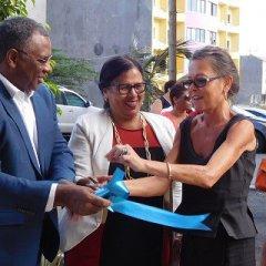 Inauguração do Centro de Cuidados e Reabilitação