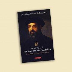 """Livro """"Diário de Fernão de Magalhães - O homem que tudo viu e andou"""""""