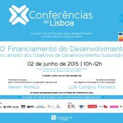 Colóquio sobre o Financiamento do Desenvolvimento e lançamento do livro das Conferências de Lisboa