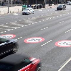 Diminuição do limite de velocidade das vias urbanas espanholas