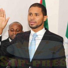 Tomada de posse do novo presidente do Governo do Príncipe