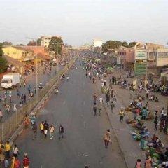 Novos serviços de transportes urbanos em Bissau