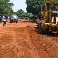 Reabilitação de estradas na Guiné-Bissau