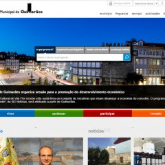 """Website do município de Guimarães distinguido como """"Boa Prática"""" na Administração Pública"""