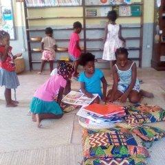 Promoção regular da leitura e literacias com as Bibliotecas da Ilha de Moçambique