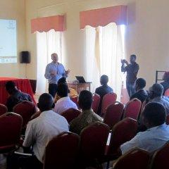 Apresentação do estudo prévio da requalificação do espaço público em Macuti