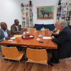 Reunião com Governador de Cacheu