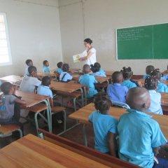 Cluster da Cooperação Portuguesa da Ilha de Moçambique - Ação estruturante na área da Educação