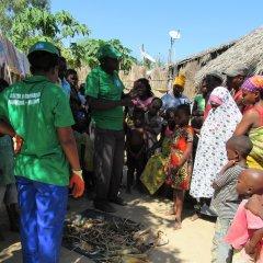 UCCLA e Ilha de Moçambique cooperam na melhoria do saneamento do meio