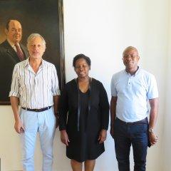Reunião com delegação de São Tomé e Príncipe