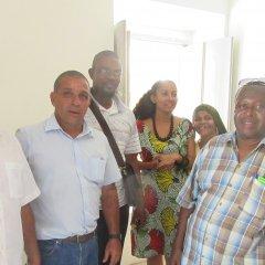 Encontro com o candidato eleito para presidente do Município da Ilha de Moçambique