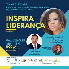 UCCLA recebe evento de Tânia Tomé que traz a energia do sucesso a Portugal