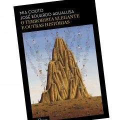 """Livro """"O terrorista elegante e outras histórias"""" de Mia Couto e José Eduardo Agualusa"""