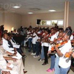 Inaugurada Escola de Música Kaposoka no distrito da Samba