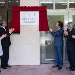 Inauguração do novo Centro Pediátrico em Macau