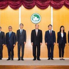 Nomeação do V Governo de Macau