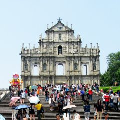 Macau_Ruinas de Sao Paulo