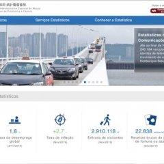 Serviços de Estatística e Censos de Macau têm nova página eletrónica